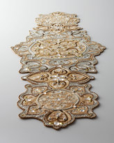 "Kim Seybert Baroque"" Beaded Table Runner"