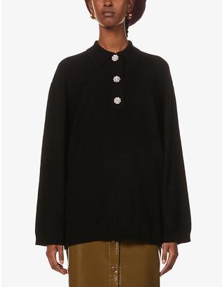 Ganni Oversized cashmere jumper