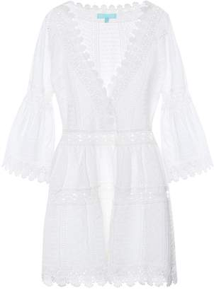 Melissa Odabash Victoria embroidered cotton kaftan