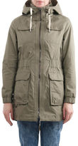 Laundry By Shelli Segal Waxed Cotton Anorak