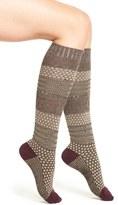 Smartwool Popcorn Cable Knee High Socks