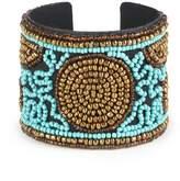 Sole Society Beaded Cuff Bracelet
