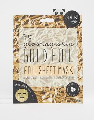 Oh K! Gold Foil Sheet Mask-No Color