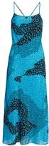 Rixo Sylvie Leopard-Print Silk Midi Dress