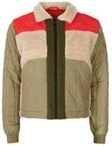 Topman DESIGN Patched Harrington Jacket