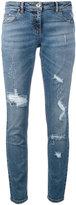 Eleventy distressed jeans - women - Cotton/Spandex/Elastane - 32