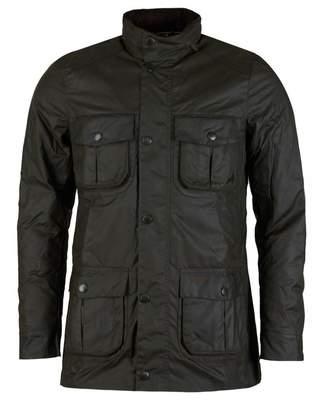 Barbour Corbridge Utility Wax Jacket Colour: OLIVE, Size: SMALL