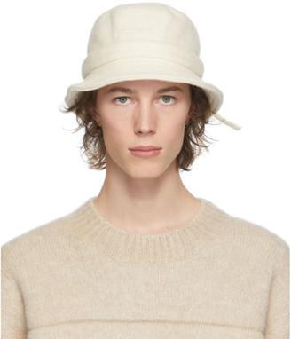 Jacquemus Off-White Le Bob Gadjo Bucket Hat