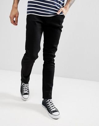 Weekday Friday slim jeans in black