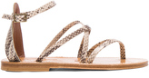 K. Jacques Epicure Leather Sandals