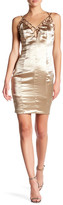 Wow Couture V-Neck Strappy Dress