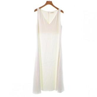 Celine White Synthetic Dresses