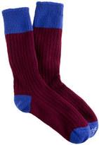 Corgi CorgiTM for J.Crew cashmere tipped socks
