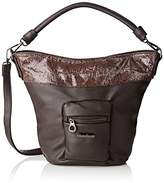 Little Marcel Women's Chiraz Top-Handle Bag Brown