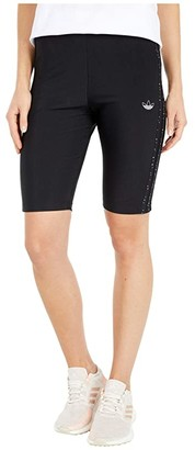 adidas Fakten Short Tights (Black) Women's Shorts