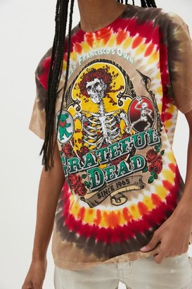 Liquid Blue Grateful Dead Tie-Dye Tee