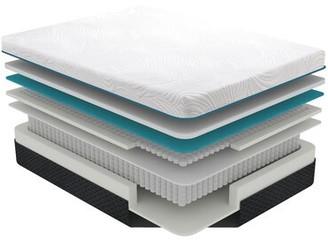 """White Noise Maribel Hybrid 11"""" Firm Gel Memory Foam Mattress Mattress Size: Twin"""