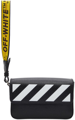 Off-White Black Diag Clutch