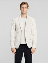Calvin Klein Collection Bagged Out Paper Nylon Sport Coat