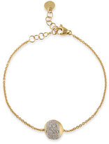 Marco Bicego Tennis 18K Gold Pavé Diamond Ball Station Bracelet