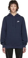 Nike Navy Sportswear Club Hoodie