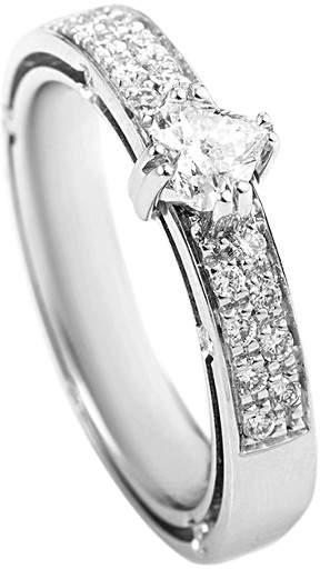 Damiani 18K 0.60 Ct. Tw. Diamond Ring