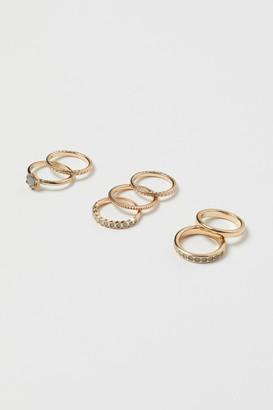 H&M 7-Pack Rings