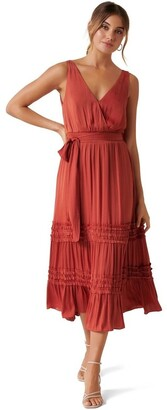 Forever New Madeline Tiered Ruffle Dress