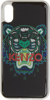 Kenzo Black and Green Tiger iPhone X Case