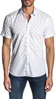 Jared Lang Men's Short-Sleeve Fil Coupe Sport Shirt