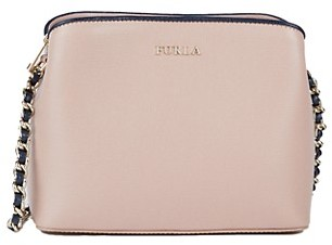 Furla Chain Leather Shoulder Bag