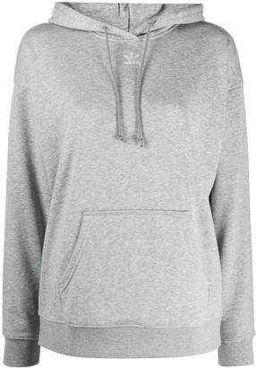 adidas Long-Sleeved Trefoil Logo Hoodie