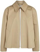 Acne Studios Mia Stone Cotton Jacket