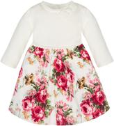 Monsoon Newborn Sophia Rose 2 In 1 Cord Dress