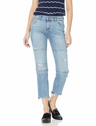 DL1961 Women's Mara Ankle Instasculpt Straight Jeans