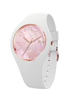 Ice Watch Ice-Watch - Ice Pearl Ice Pearl - Women's Wristwatch with Silicon Strap - 017126 (Medium)