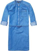Tommy Hilfiger Drapy Indigo Dress L/S