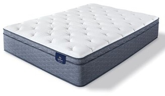 "Serta SleepTrue 12.5"" Plush Hybrid Mattress Mattress Size: Twin"