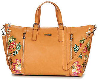 Desigual SUMMER CARIBOU VERONA women's Shoulder Bag in Brown