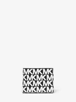 Michael Kors Henry Logo Leather Slim Billfold Wallet