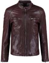 Oakwood Bobby Leather Jacket Bordeaux