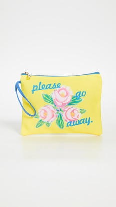 Magda Gift Boutique Archer Please Go Away Clutch