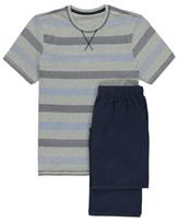 George Stripe Jersey Pyjamas