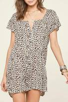 Amuse Society Leopard Sun Dress