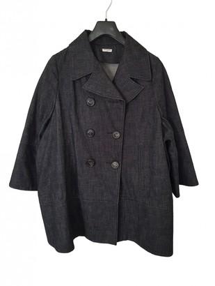 Charles Anastase Anthracite Denim - Jeans Coat for Women