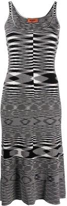 Missoni geometric mid-length dress