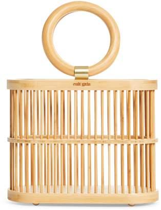 Cult Gaia Mini Coco Top Handle Bamboo Bag