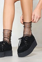 Nasty Gal nastygal So Close Mesh Socks