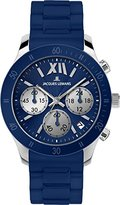 Jacques Lemans Women's 1-1587C Rome Sports Sport Analog Chronograph with Silicone Strap Watch