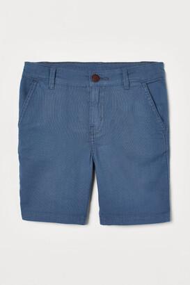 H&M Cotton Shorts - Blue